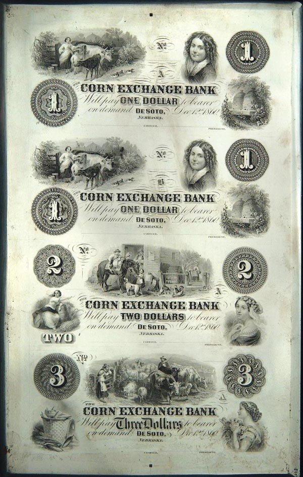 970: Corn Exchange Bank of DeSoto, Nebraska