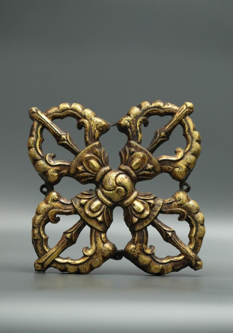 GILT BRONZE INSTRUMENT