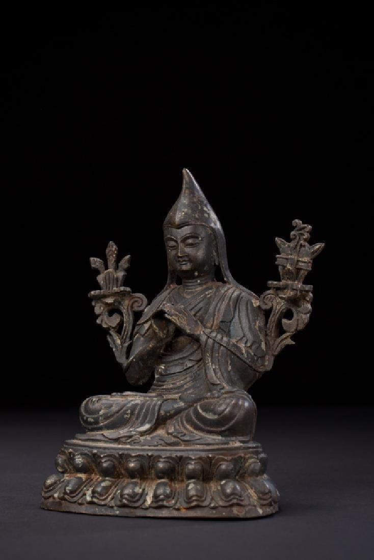 TIBETAN DHARMA BUDDHA FIGURE