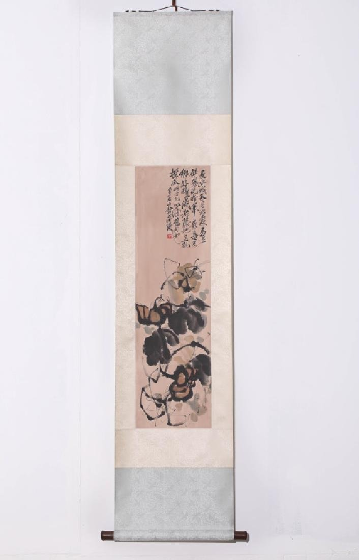 CALLIGRAPHY AND PAINTING, THE STYLE OF QI BAISHI