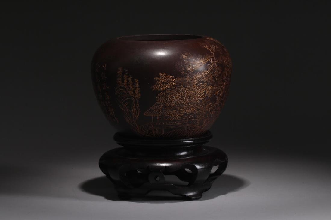 YINGXING GOILDING DRAWING WATER POT