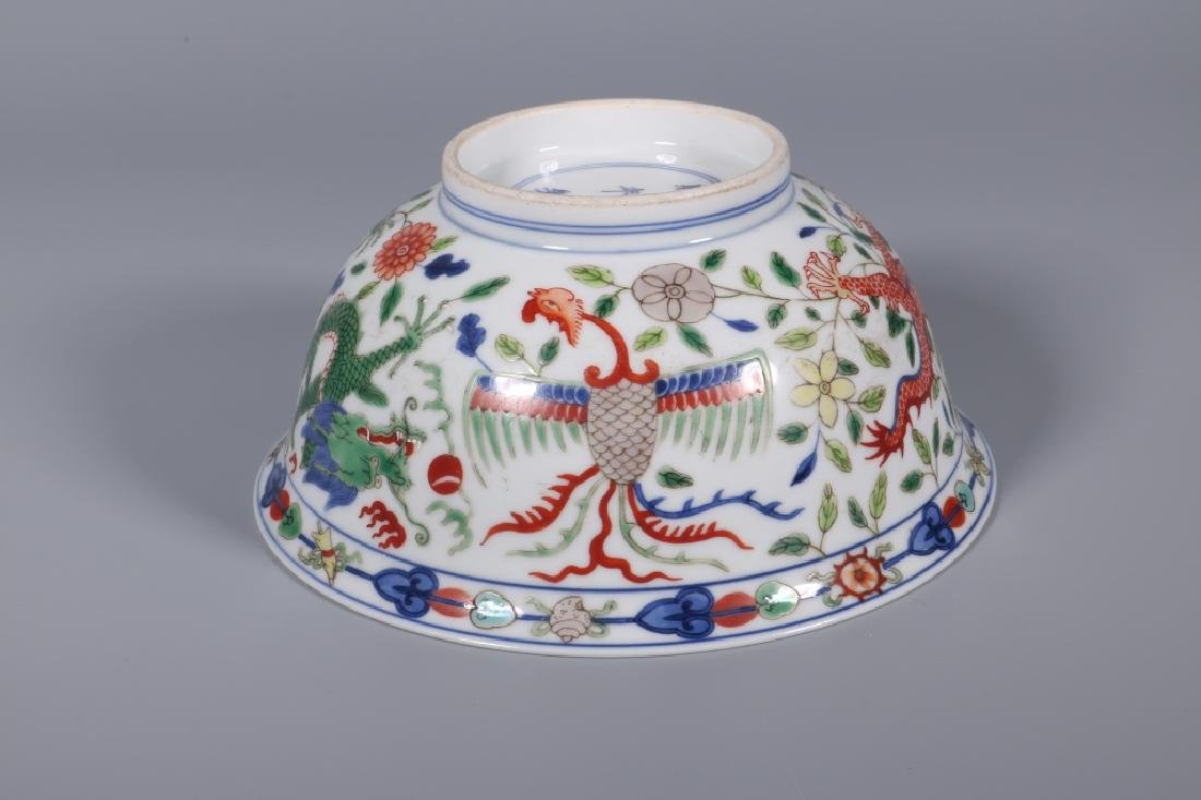 WU CAI DRAGON AND PHOENIX BOWL - 5