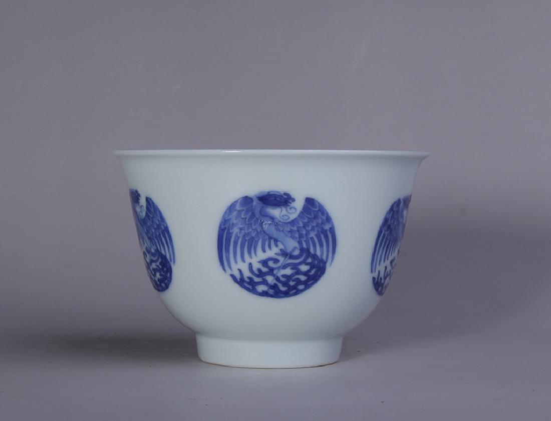 BLUE AND WHITE PHOENIX GRAIN BOWL - 5