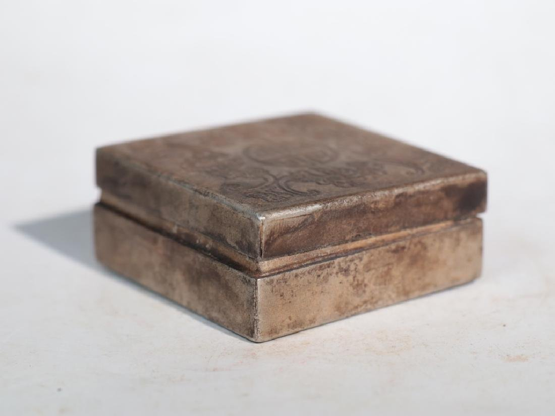 An antique copper compact - 2