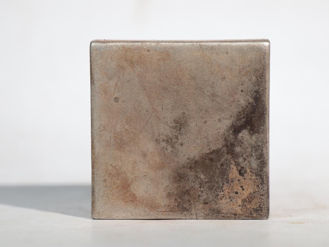 An antique copper compact - 4