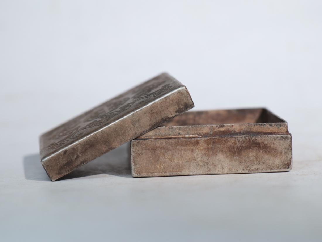 An antique copper compact - 6