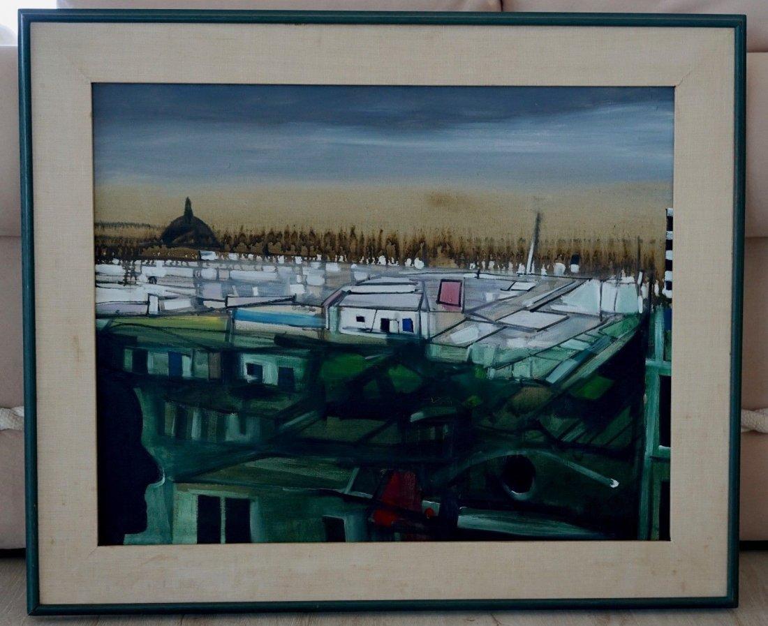 JOHN HULTBERG (1922-2005) Cathedral City 1961 - 2
