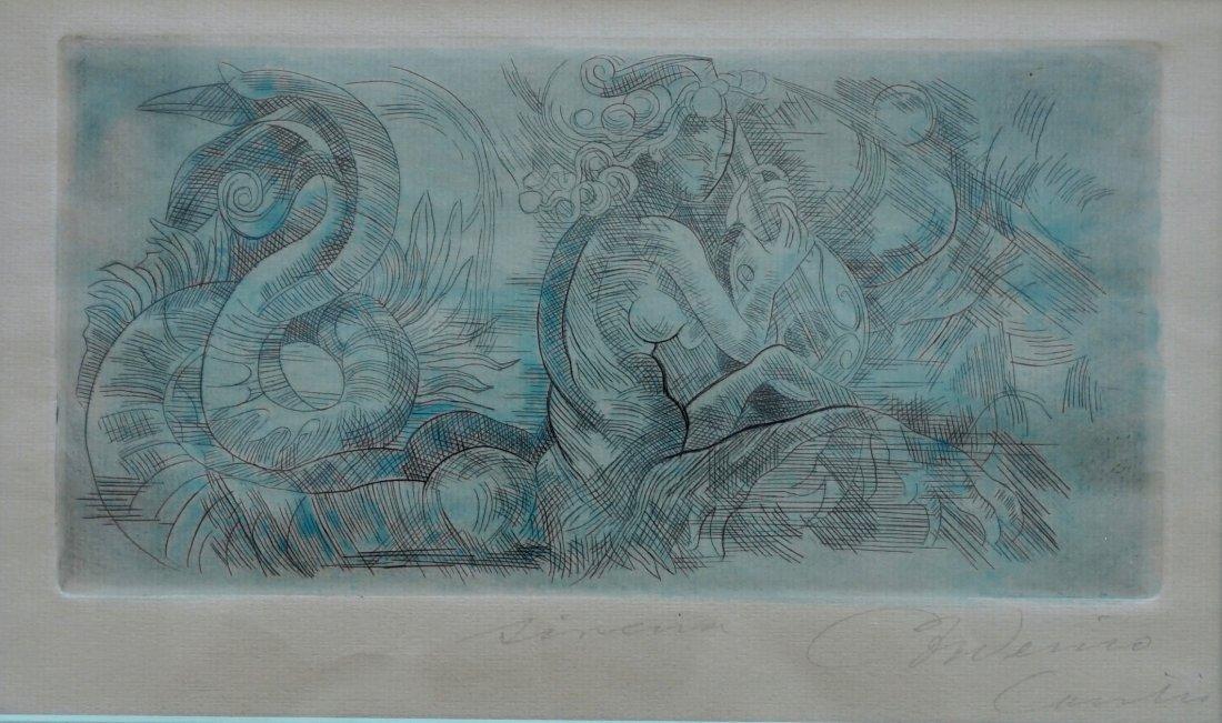 FREDERICO CANTU (907-1989) Mexican Modernist - 2