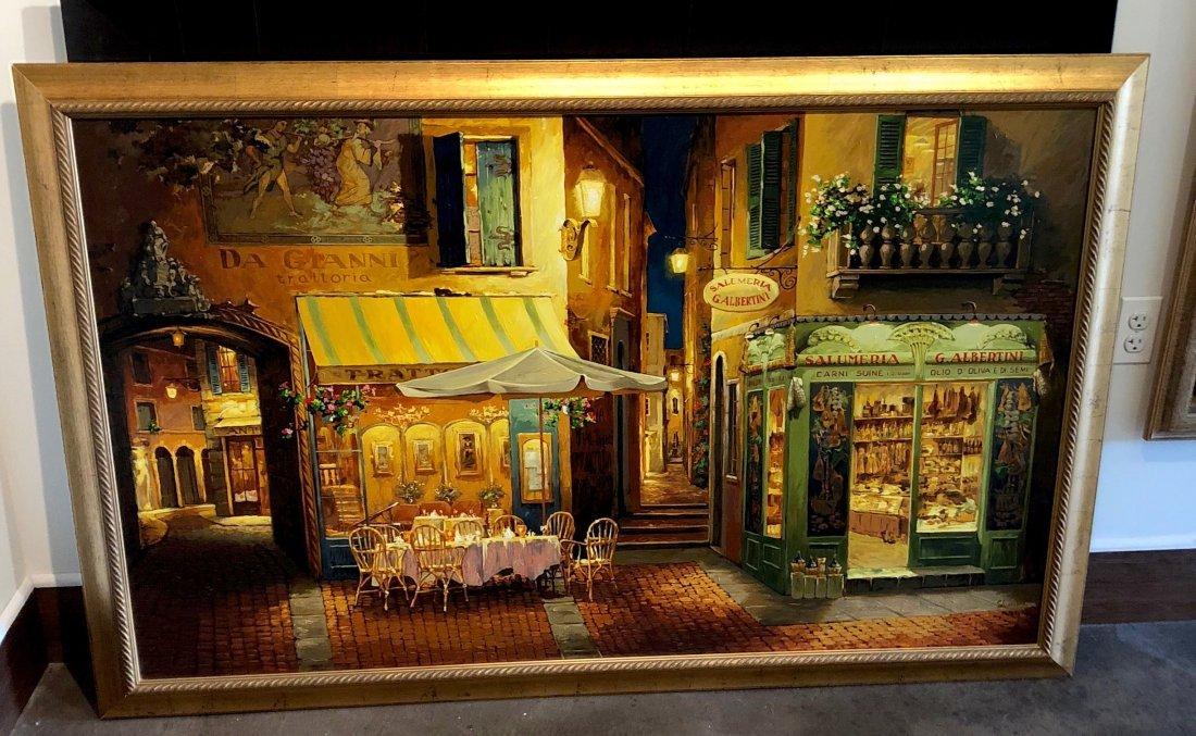 VIKTOR SHVAIKO (b. 1965) Evening In Verona Giclee - 2