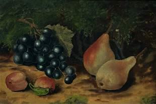 19th Century Still Life Of Fruit