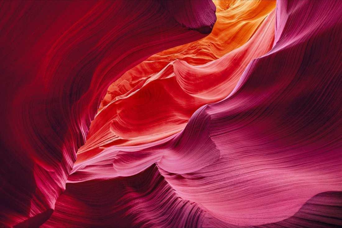 PETER LIK Endless Flow Antelope Canyon, Arizona