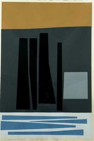 HAROLD KRISEL (New York, 1920-1995) Horizon 1960