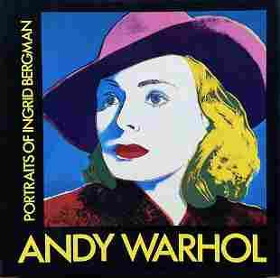 ANDY WARHOL - Portraits of Ingrid Bergman Hardcover