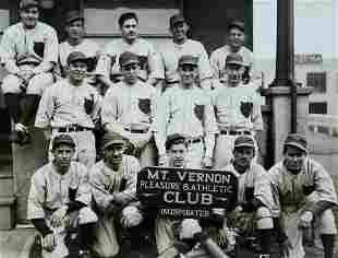 Mt. Vernon, NY Pleasure & Athletic Club Antique Photo