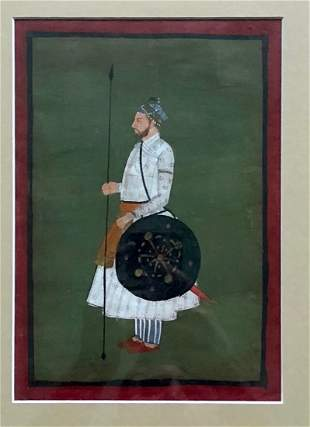 18th Century Mughal School Painting