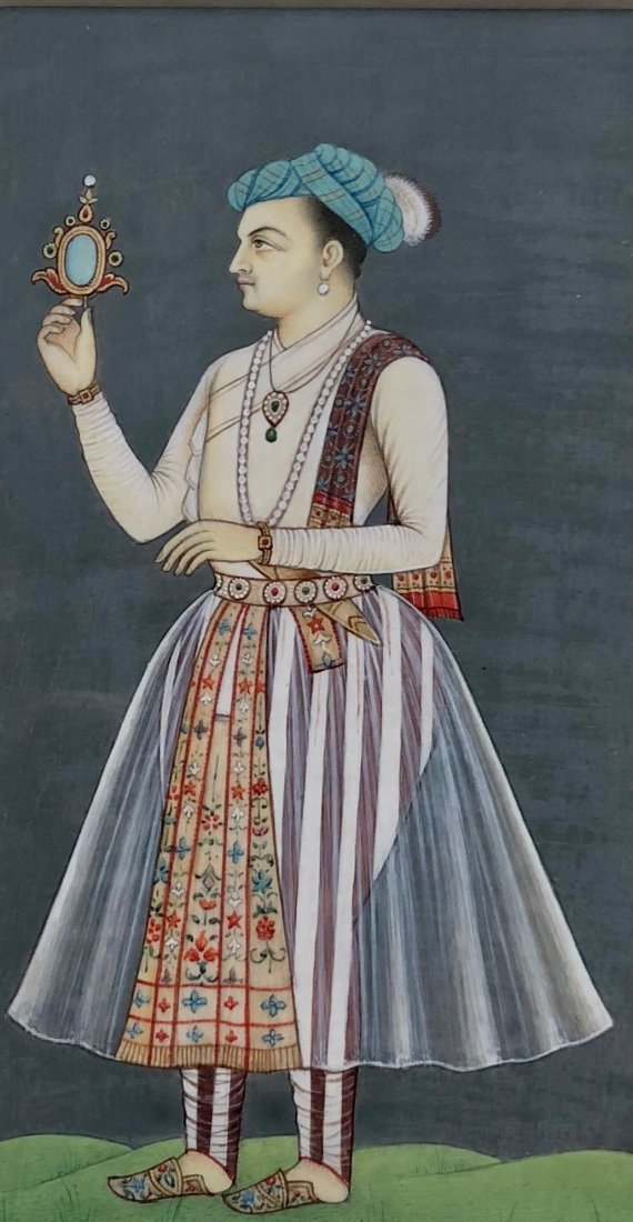 Mughal Empire Emperor Figural Painting - 2