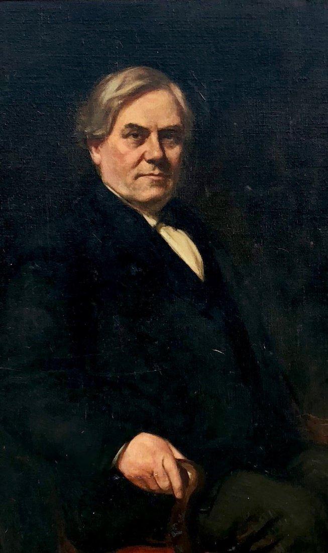 FRANK B LINTON (Pennsylvania (1873-1943) Portrait