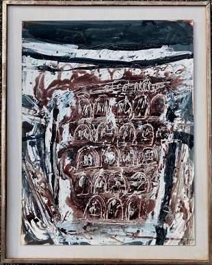 HORIA DAMIAN (Romania, 1922-2012) Abstract
