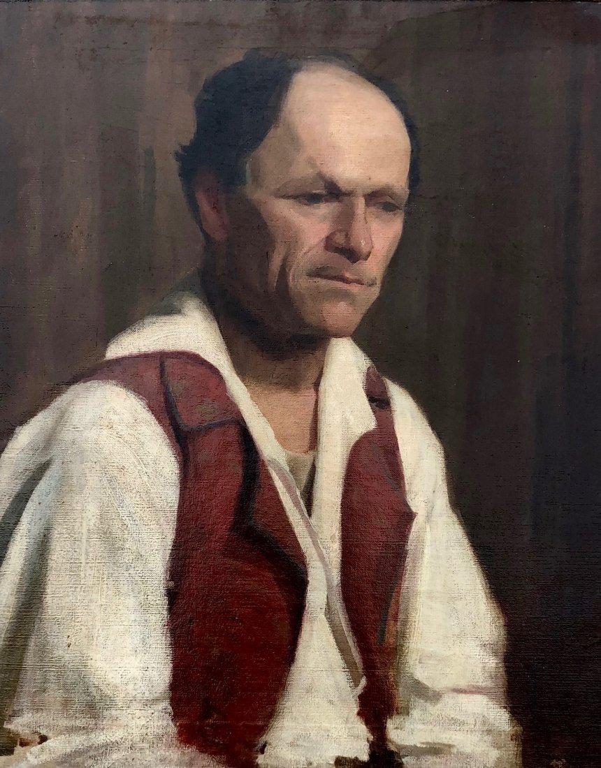 MARGERY RYERSON (1886-1989) Portrait
