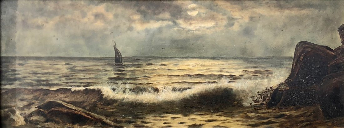 19th American Century Seascape