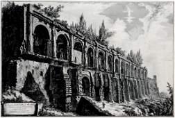 GIOVANNI PIRANESI - Avanzi della Villa di Mecenate
