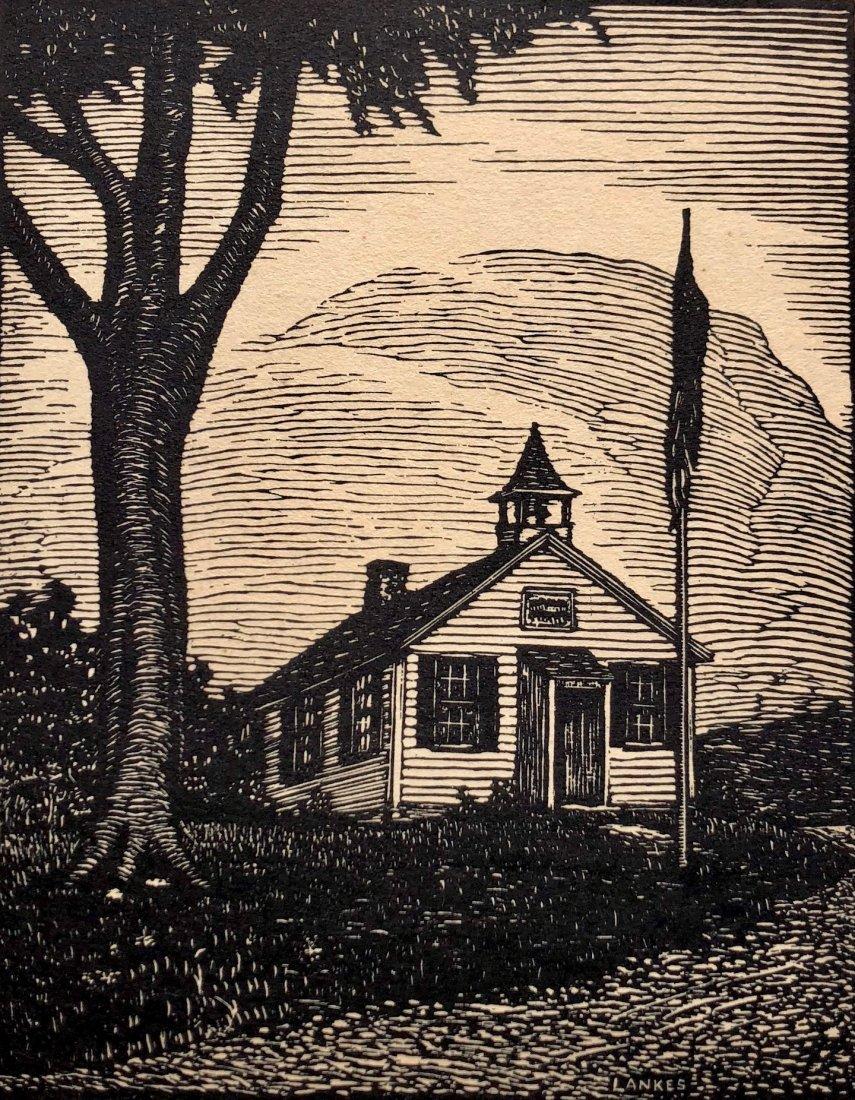 JULIUS LANKES (New York, 1884-1960) Woodblock Print