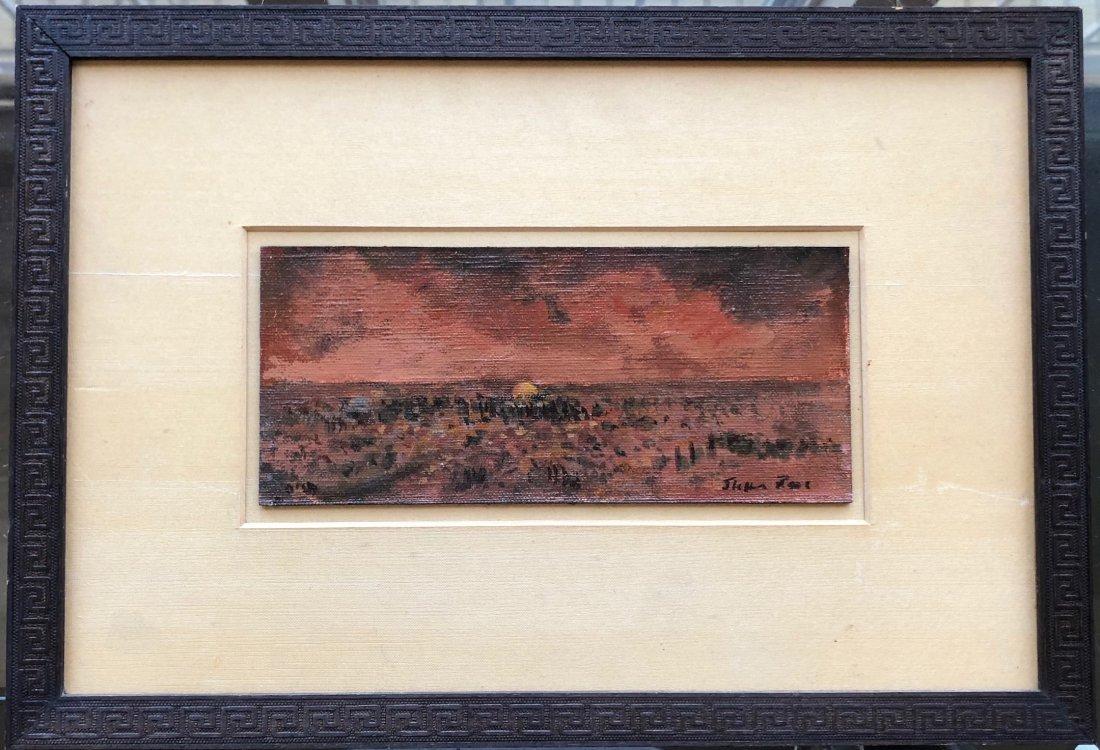 Illegibly Signed Impressionist Landscape - 2