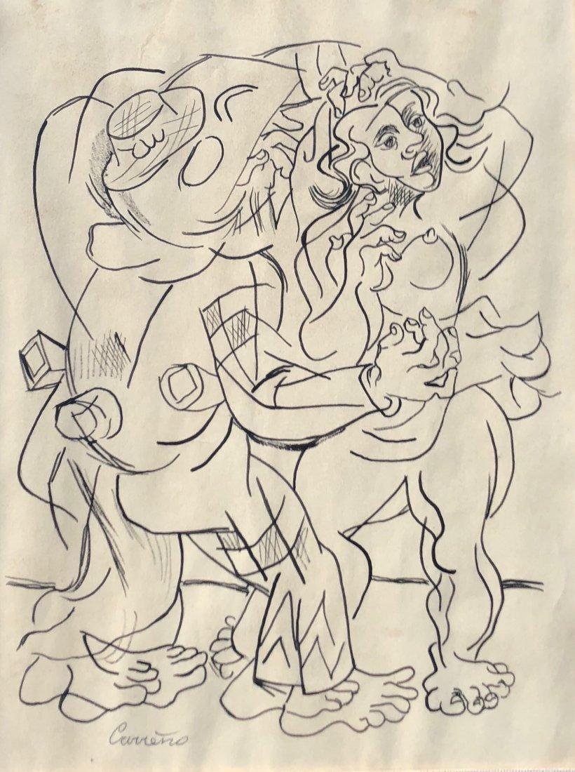 MARIO CARRENO (Cuba, Chile 1913-1999) Modernist