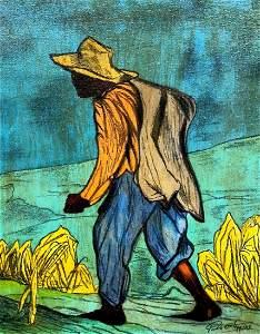 PABLO O' HIGGINS (1904-1983) Mexican Modernist