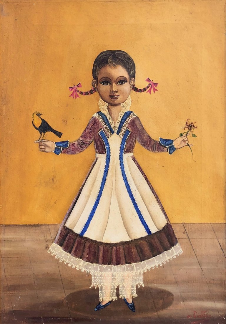 AGAPITO LABIOS (Mexican, 1898-1996) Folk Art