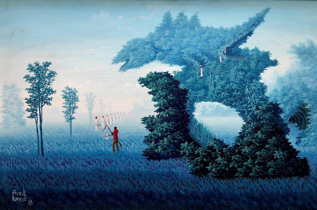 AVRIL FOREST (20th Century, Haitian) Surrealist