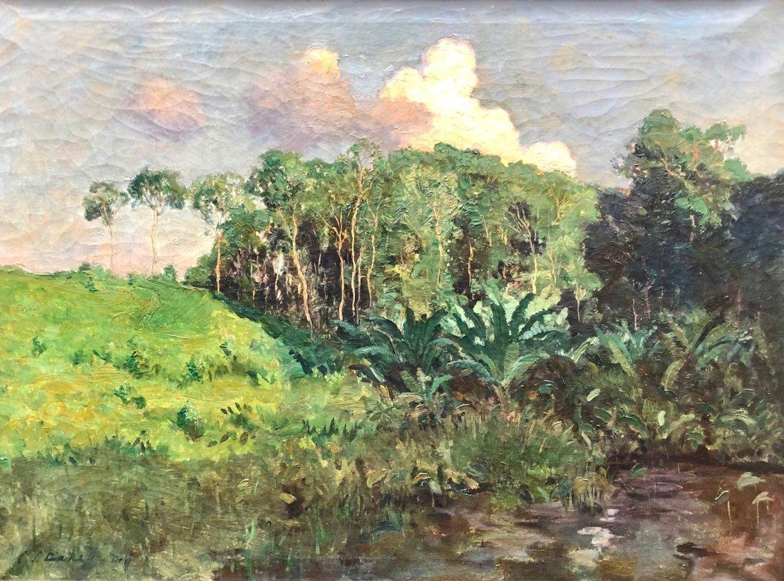 CAREL LODEWIJK DAKE JR (1886-1946, Dutch) Landscape