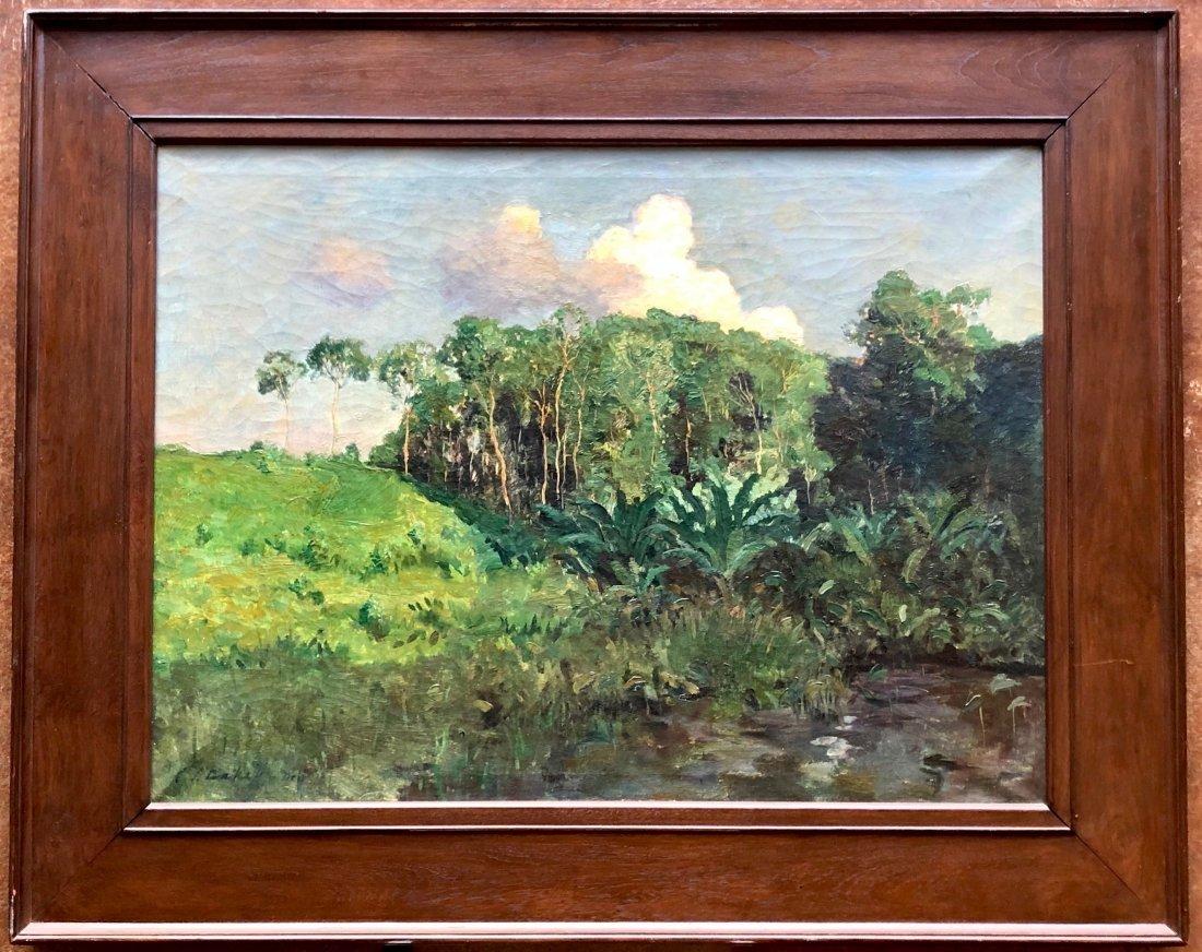 CAREL LODEWIJK DAKE JR (1886-1946, Dutch) Landscape - 2