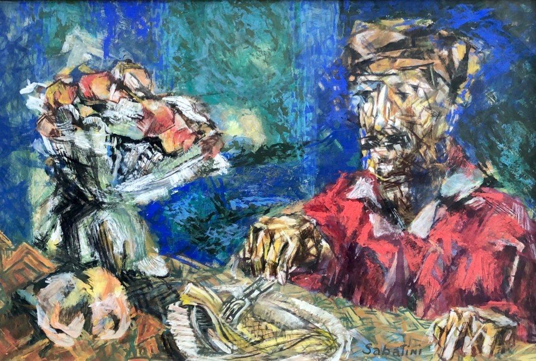 RAPHAEL SABATINI (1898-1985, Philadelphia) Modernist