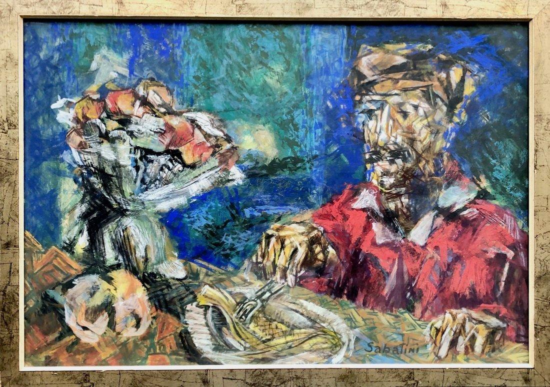 RAPHAEL SABATINI (1898-1985, Philadelphia) Modernist - 2