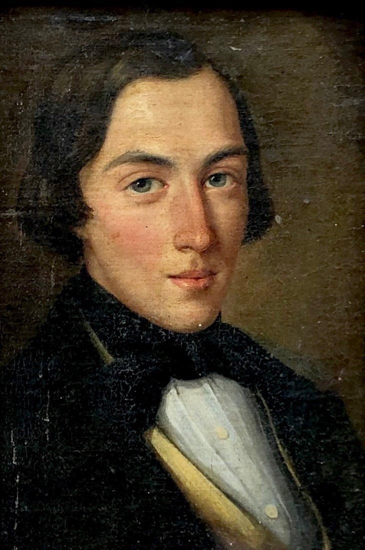 18th Century Portrait Of An American Gentleman