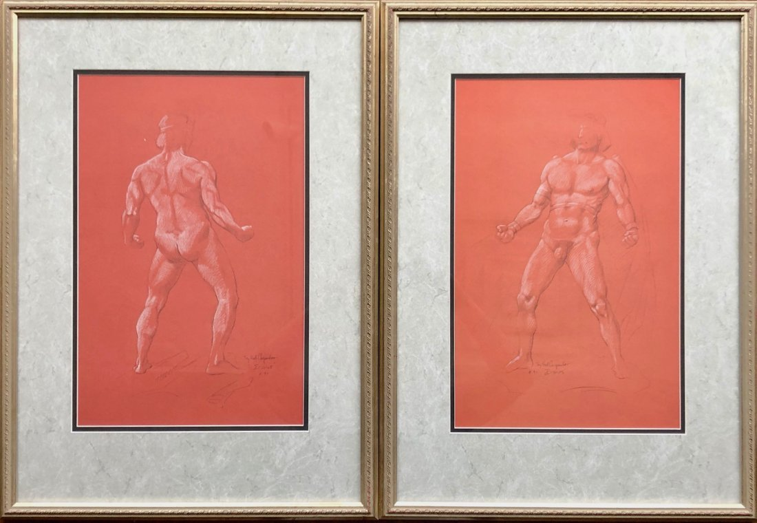 JAY HALL CARPENTER (b. 1961, American) Icarus Drawings