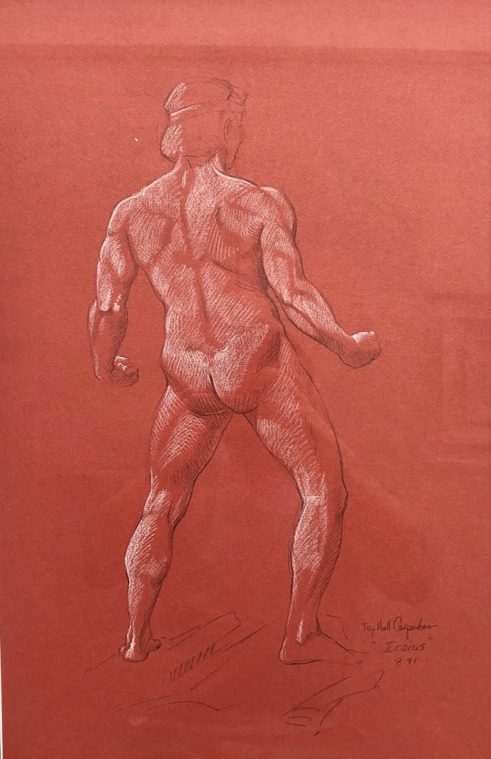 JAY HALL CARPENTER (b. 1961, American) Icarus Drawings - 2