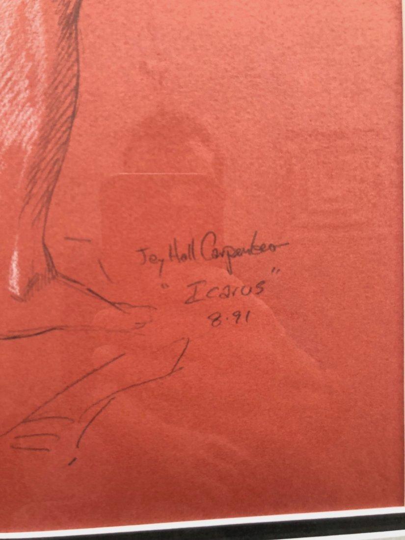 JAY HALL CARPENTER (b. 1961, American) Icarus Drawings - 3