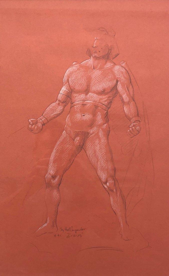 JAY HALL CARPENTER (b. 1961, American) Icarus Drawings - 4