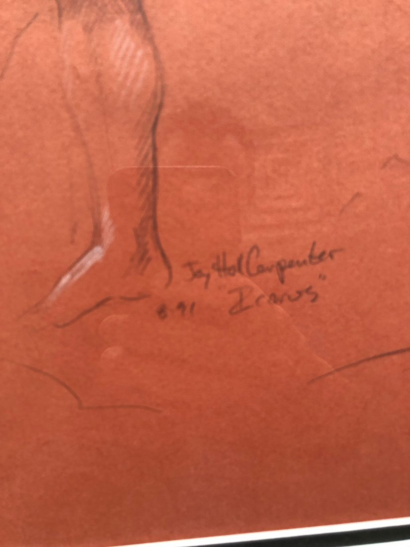 JAY HALL CARPENTER (b. 1961, American) Icarus Drawings - 5