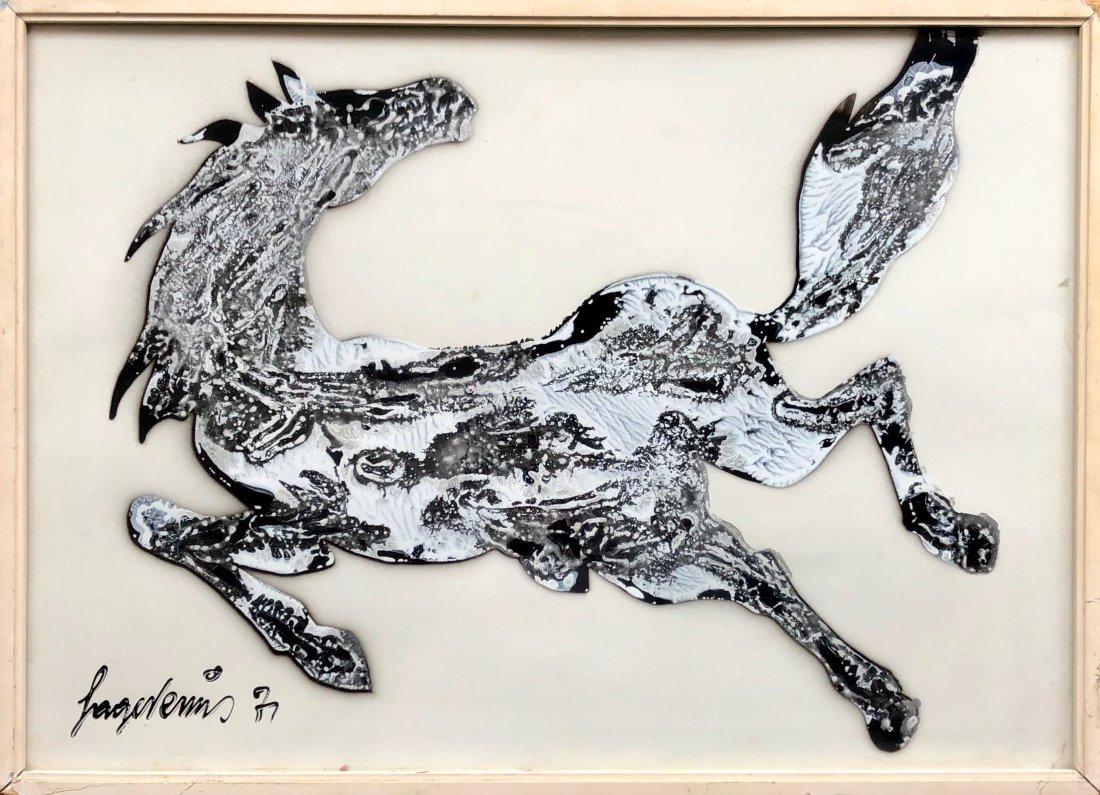 SAGE VERNIS (b 1916, Italy) Modernist Horse