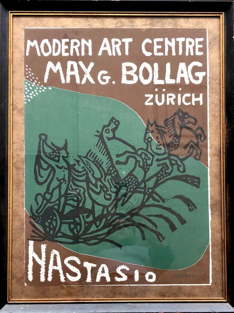 Alessandro Nastasio  (born 1934) Zurich Modernist