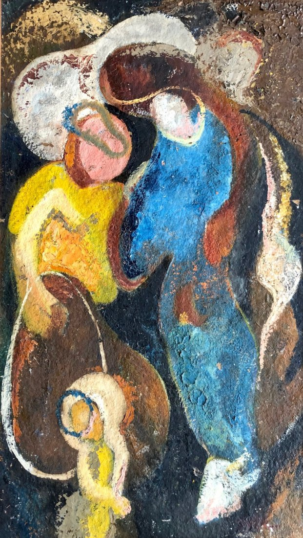 IRVING GEORGE LEHMAN (1900-1983) Modernist Abstract
