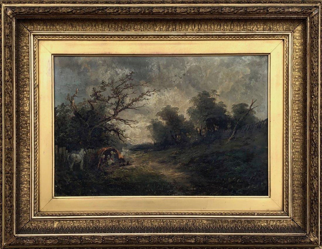 CLIFFORD MONTAGUE (1845-1901, UK) Landscape