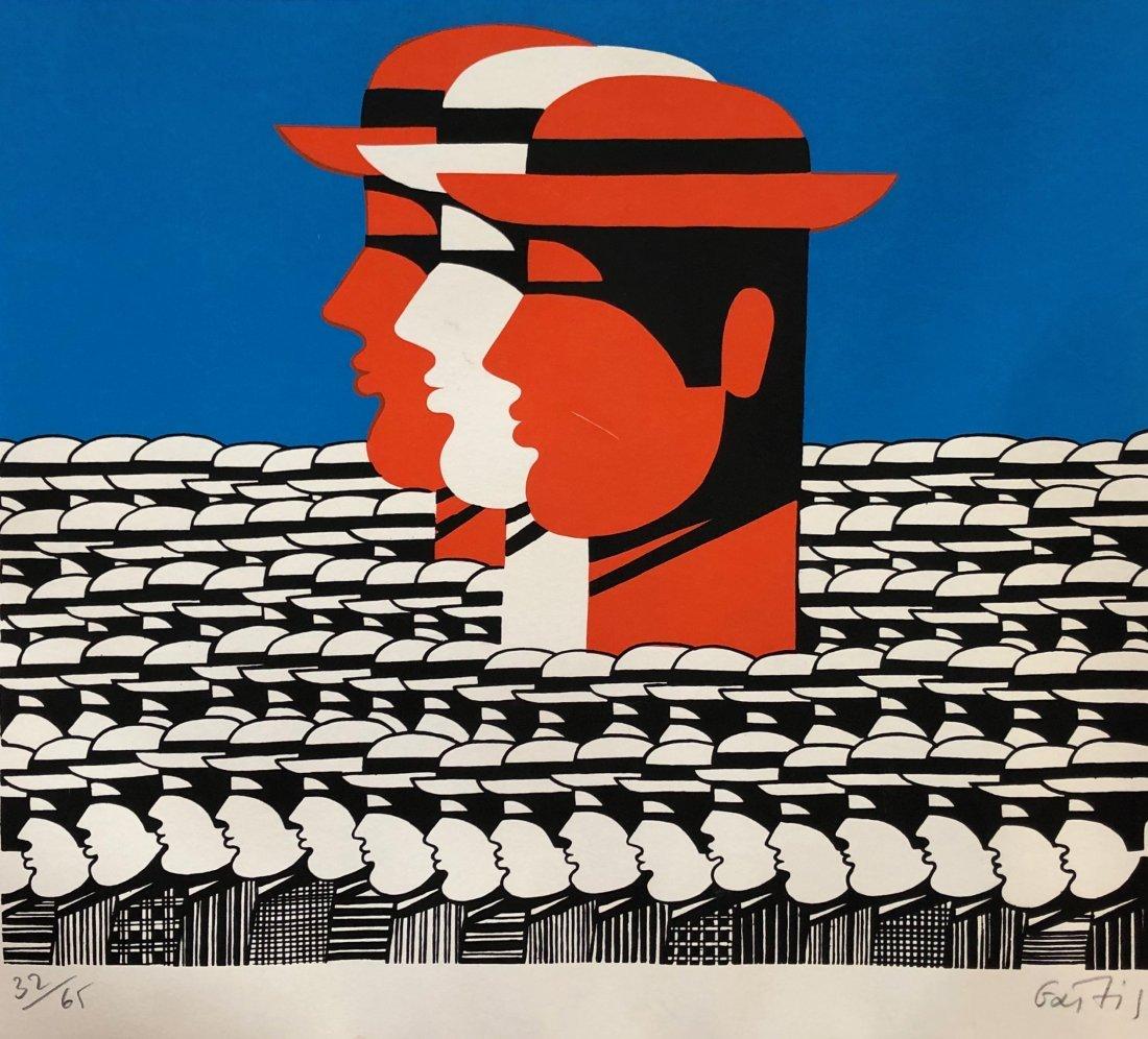YANNIS GAITIS (1923-1984, Greece) Modernist