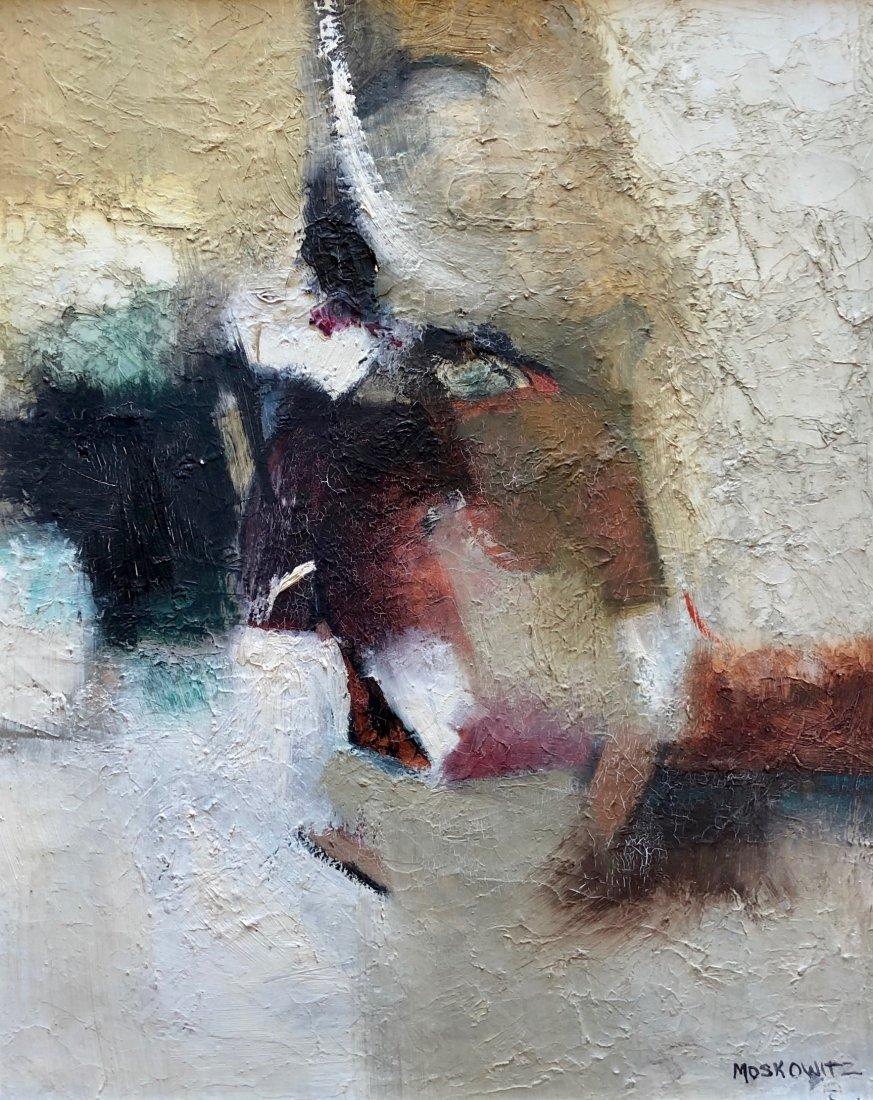 ROBERT MOSKOWITZ (b. 1935, New York) Abstract