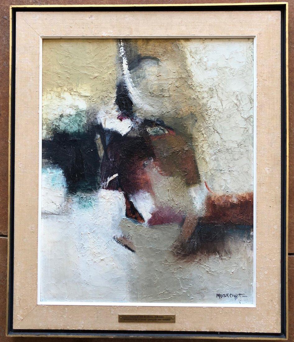 ROBERT MOSKOWITZ (b. 1935, New York) Abstract - 2