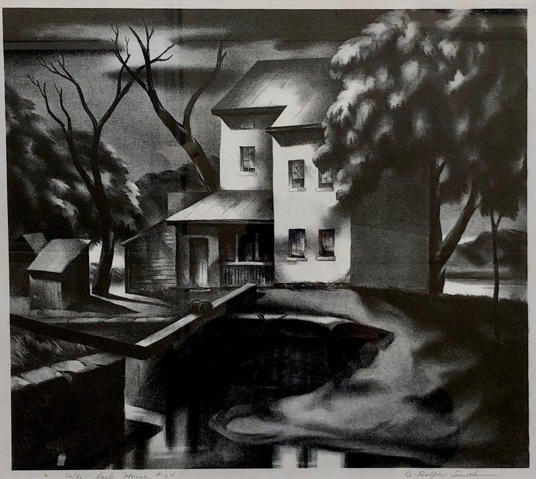 G. RALPH SMITH (Pennsylvania, 1907-2007) Lock House