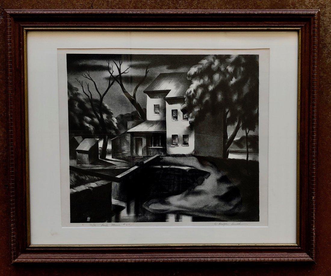 G. RALPH SMITH (Pennsylvania, 1907-2007) Lock House - 2